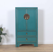 Yajutang Chest of drawers 2 doors turquoise