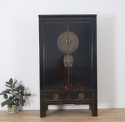 Yajutang Chinese wedding cabinet 2 black