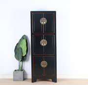Yajutang Chinese wedding cupboard 6 doors black