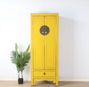 Yajutang Wedding cabinet 2 doors 1 drawer yellow