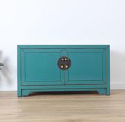 Yajutang Sideboard cabinet with 2 doors turquoise