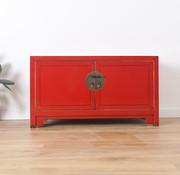 Yajutang Sideboard cabinet with 2 doors red