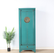 Yajutang Chinese wedding cabinet turquoise