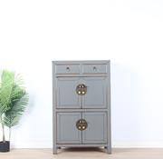 Yajutang Chinese dresser cupboard  gray