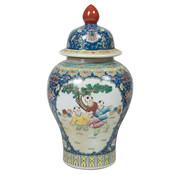 Yajutang Chinesische Porzellan Deckelvase