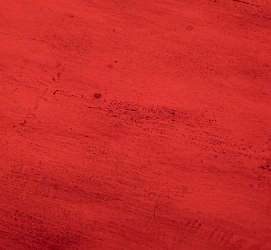 Antike chinesische Kommode 2 Türen 6 Schubladen rot