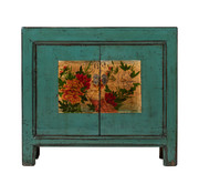 Yajutang Antique chinese cabinet solid wood painted