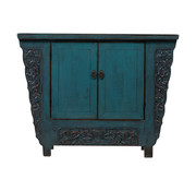 Yajutang antique  chinese cabinet blue