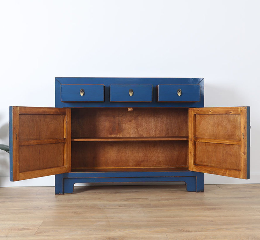 chinesische Kommode Sideboard Orientalisch/Asiatisch Stil blau