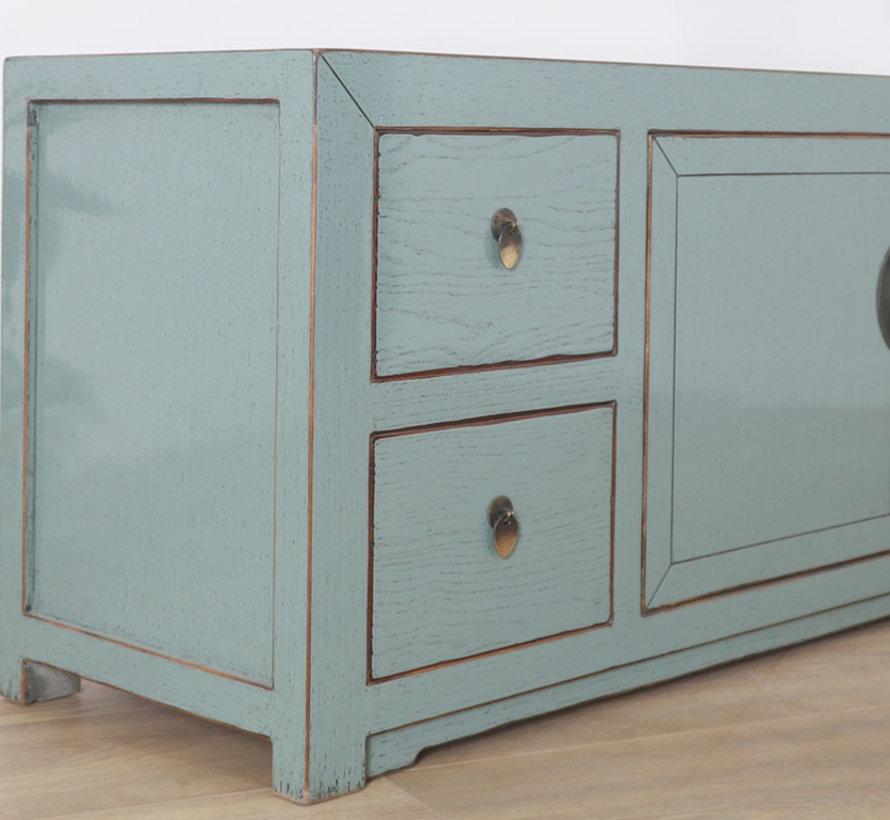 chinesisches Sideboard TV Bord 2 Türen 4 Schubladen