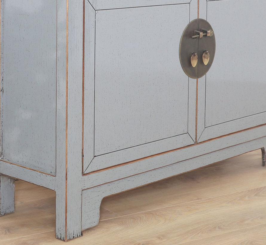 chinesische Kommode Sideboard Orientalisch/Asiatisch Stil grau