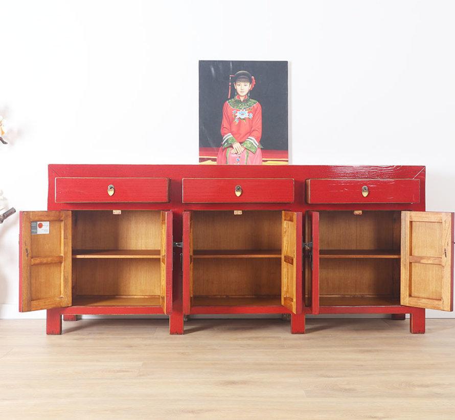 Chinese dresser sideboard 6 Türen 3 Schubladen