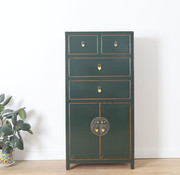 Yajutang Chinese chest of drawers  fir green
