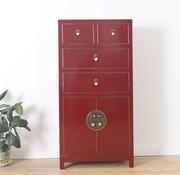 Yajutang Chinese chest of drawers  purple
