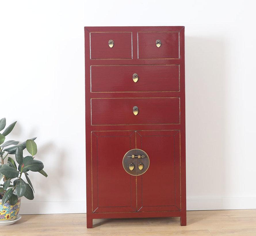 Chinese dresser sideboard 4 Schubladen 2 doors purple