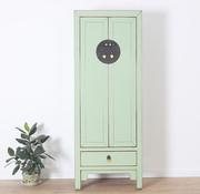 Yajutang Wedding cabinet 2 doors 1 drawer mint