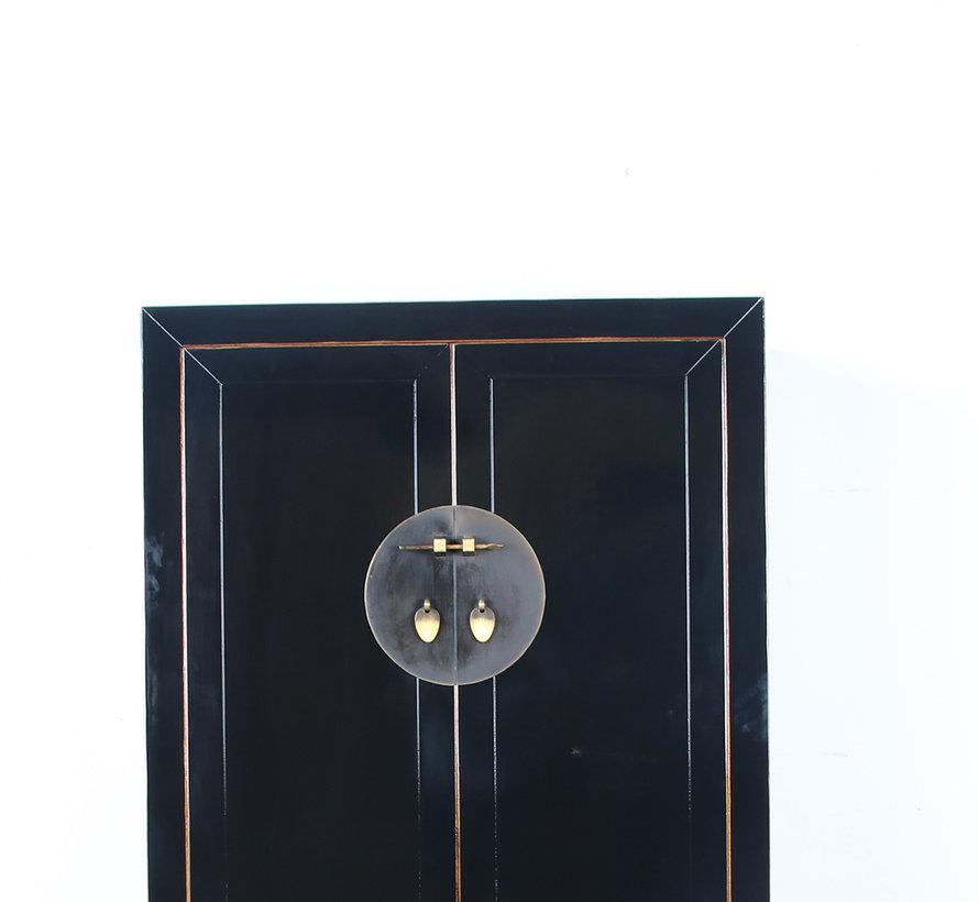 Shoe cabinet handmade solid wood  handmade solid wood black