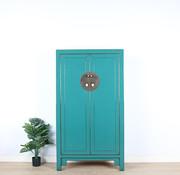 Yajutang Wedding cabinet 2 doors turquoise