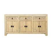 Yajutang nature sideboard 6 doors 3 drawers