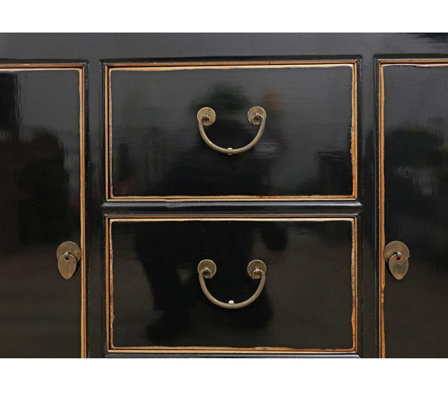 Chinese dresser sideboard 2 Türen 3 Schubladen