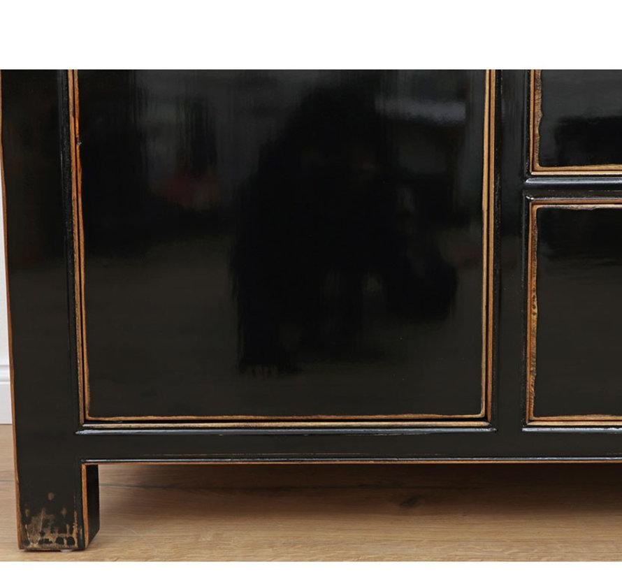chinesische Kommode Sideboard 2 Türen 3 Schubladen
