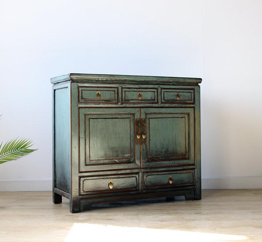 Chinese dresser sideboard 2 Türen 5 Schubladen