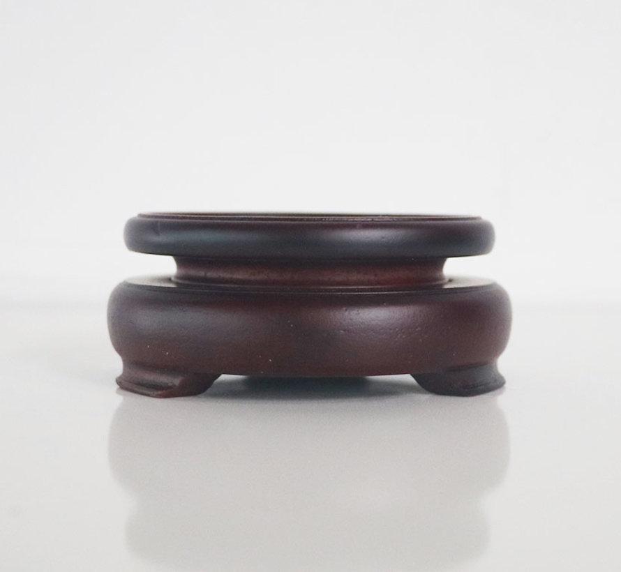 Wooden base coaster small table Ø8
