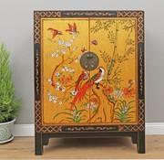 Yajutang Chest of drawers Phoenix black gold