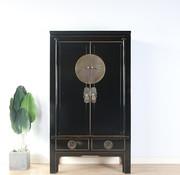 Yajutang Chinese wedding cabinet 2 black