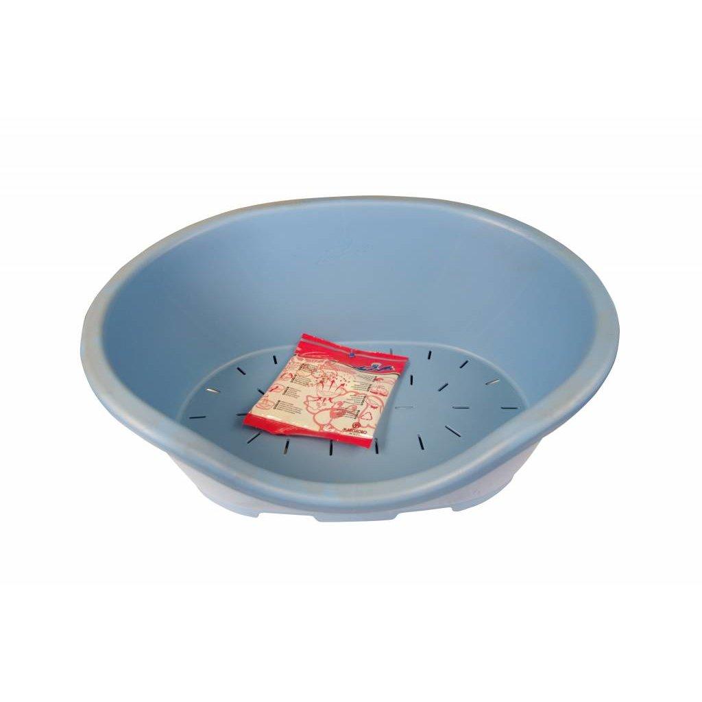 Dog Bed Blue - M 50x32cm.