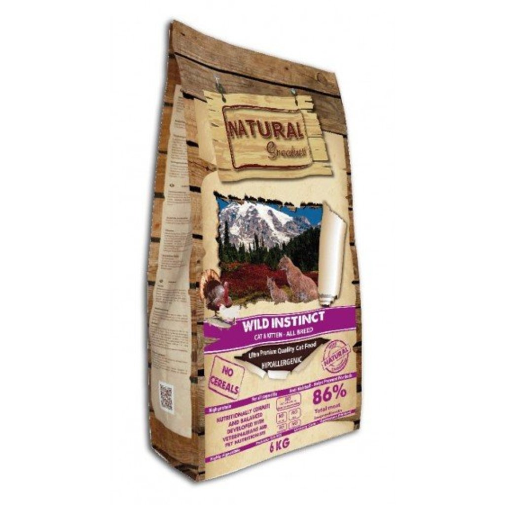 Natural Greatness Natural Greatness - Natural Cat Food - Wild Instinct