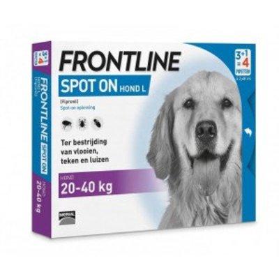 Frontline Frontline Spot-on hond L 6 pip.