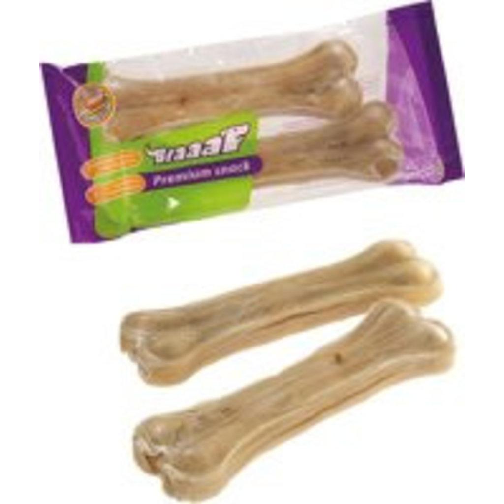 Braaaf Braaaf Premium Snack Pressed Bone 16.5cm (2st)