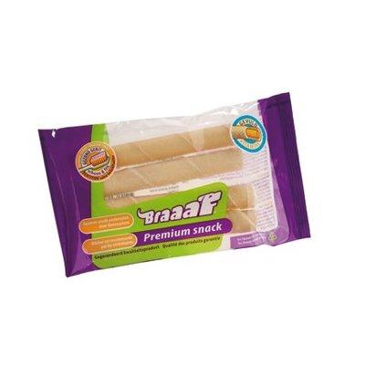 Braaaf Braaaf Premium Snack BuffelRoll Vitamine (4st)