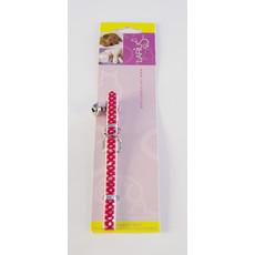 Halsband - Kat Rood 1 x 30 cm
