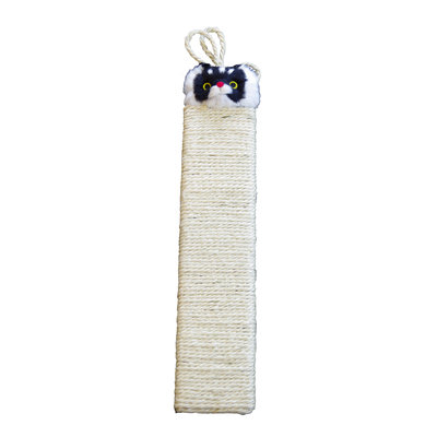 Scratching Post - white 53x12 cm
