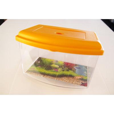 Aquarium Schildpad - Oranje L