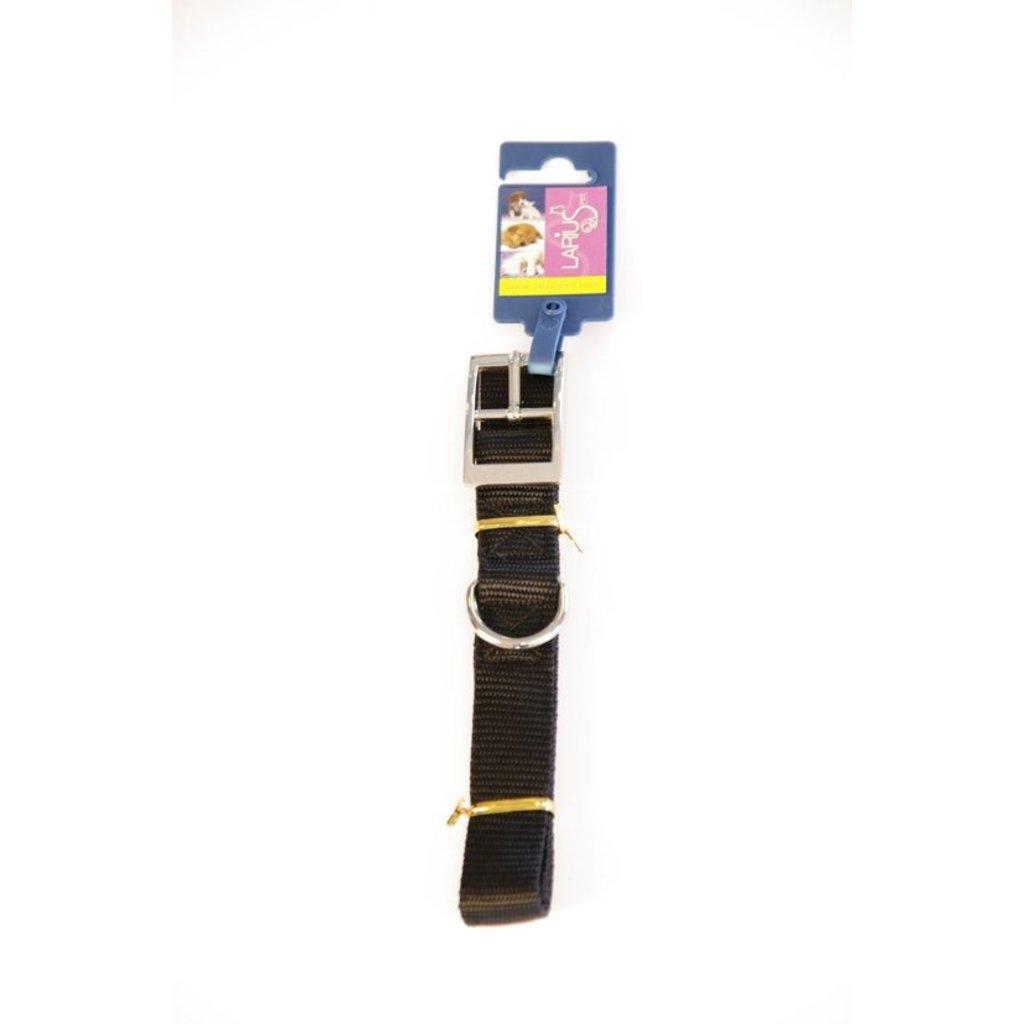 Halsband - Zwart Nylon 60 x 2,5 cm