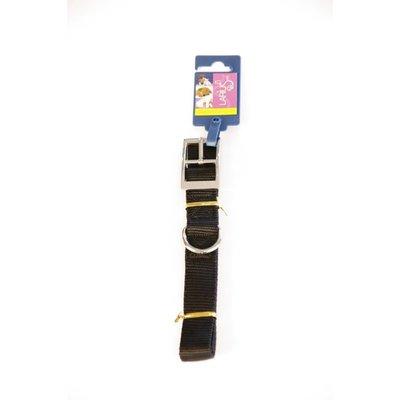 Kragen - Schwarz Nylon 60 x 2,5 cm