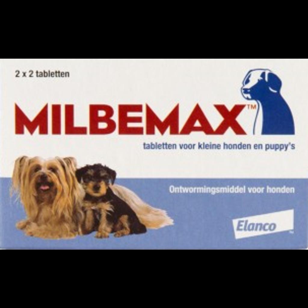 Milbemax  Milbemax Kleine Hond 2x2 tablet.