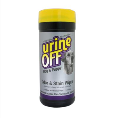 Urine Off Urin Off Dog & Puppy Geruchs- und Fleckenentferner Wipes