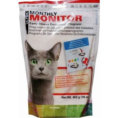 Ultra Cat Health Monthly Monitor - Crystals pH Test 453 g