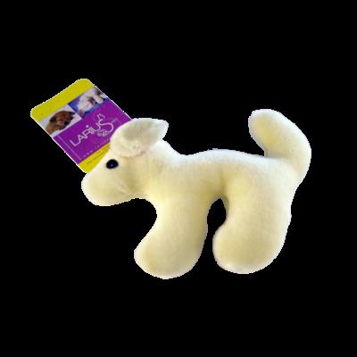 Toy - Plush Dog White