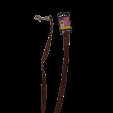 Leine - braun 120 x 1,5 cm