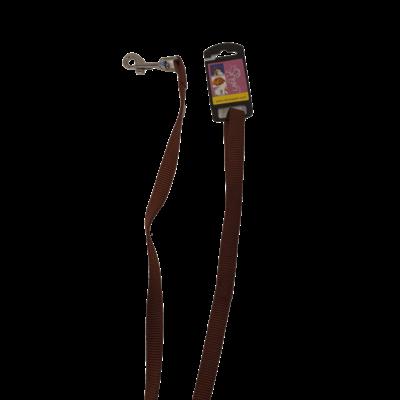 Leiband - Bruin 120 x 1,5 cm