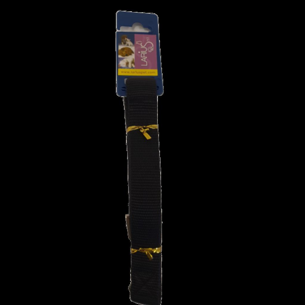 Leine - L Schwarz 60 x 2,5 cm