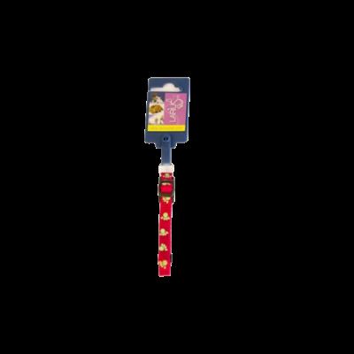 Halsband- Rood/Poot 1 x 20-35 cm