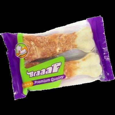Braaaf Braaaf Premium Geperst Been 12,5cm Kip (2st)