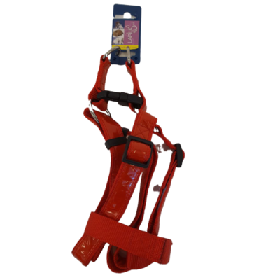 Hundegeschirr - Red Reflective 2 x 70-90 cm