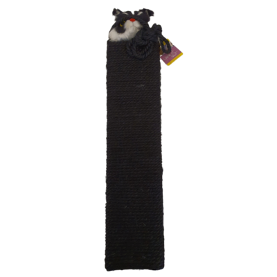 Krabpaal - Zwart 53x12 cm